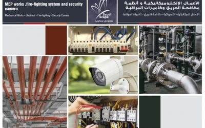 MEP works ,fire, security and safety systems